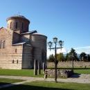 Пицундский Храм X века - основной объект монастырского комплекса.