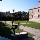 Вход в музей «Великий Питиунт». Пицунда. Абхазия.