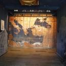 Карта украшает вход в музей «Великий Питиунт».
