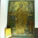 Старинная икона в музее «Великий Питиунт». Пицунда.
