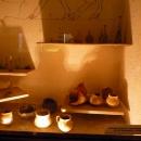 Керамические и стеклянные сосуды из погребений III-IV вв. Музей «Великий Питиунт».