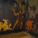 Роспись на стенах. Великий Питиунт. Пицунда. Абхазия.