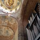 Орган и храмовый свод. Пицунда. Абхазия.