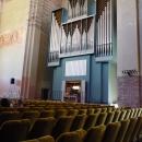 Концертный зал в Пицундском Храме X веке.