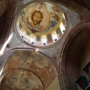 Роспись свода Пицундского Храма. Абхазия.