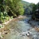 Каскад водопадов на реке Бзыбь. Абхазия.