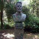 Бюст Чехова в Гурзуфском парке.