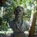 Бюст Горького в Гурзуфском парке.