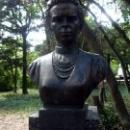 Бюст Леси Украинки в Гурзуфском парке.