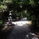 Гурзуфский парк. Аллея скульптур известных людей, живших в Гурзуфе.