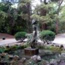 Фонтан «Купальщица» в Гурзуфском парке.