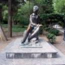 Скульптура «Юный Пушкин» в Гурзуфском парке.
