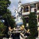 Фонтан «Ночь» в Гурзуфском парке - копия скульптуры немецкого автора профессора Бергера.