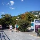 Набережная Гурзуфа - главная достопримечательность курортного поселка.