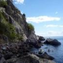 Гурзуф, пляж в Бухте Чехова.
