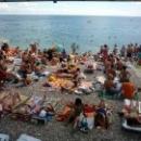 Галечные пляжи в Гурзуфе.