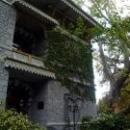Корпус Санатория Гурзуфского гармонично вписан в ландшафт парка.