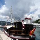Порт для яхт, катеров и лодок в Херцег-Нови. Черногория.