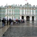 Зимний дворец. Главный комплекс Эрмитажа. Очередь в один из самых известных музеев Мира.