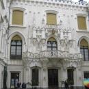 Внутренний двор замка Глубока. Глубока-над-Влтавой. Чехия.