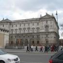 Площадь Героев. Этнологический музей дворцового комплекса Хофбург в Вене. Австрия.