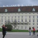 Ренессансное здание Крыла Леопольда – официальная резиденция президента Австрии. Дворец Хофбург. Вена.