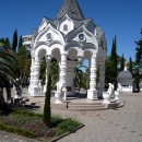 Собор Архангела Михаила в центре Сочи.