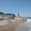 Отдых в Турции на пляжах курорта Кемер.