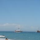 Отдых на Средиземном море в Турции.