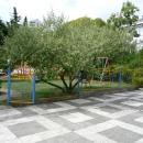 Детская площадка в пансионате Эдем в Сочи.