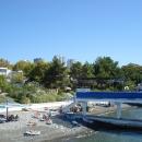 Пляж и аэрарий пансионата Эдем в Сочи.