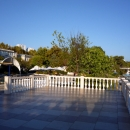 Набережная над собственным пляжем пансионата Эдем в Сочи.