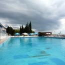 Открытый бассейн пансионата Эдем в Сочи.