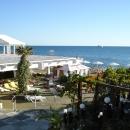 Собственный пляж гостиницы «Жемчужина». Сочи.