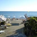 Причал у пляжа гостиницы «Жемчужина» в Сочи.
