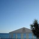 Ротонда на пляже «Жемчужина». Сочи.