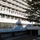 У гостиницы «Жемчужина» в Сочи.