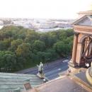 Панорама центральной части Санкт-Петербурга с купола Исаакиевского собора.