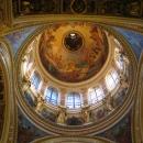 Роспись главного купола Исаакиевского собора внутри «Богоматерь со славе».