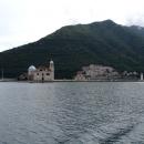 Остров «Богородица на Рифе» в Боко-Которском заливе в Черногории.
