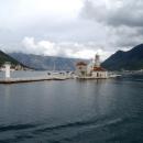 Рукотворный остров «Марии на Рифе» в Адриатическом море. Черногория.