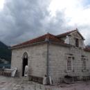 Остров Госпа од Шкрпела в Которском заливе. Черногория.