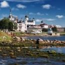 Карелия. Белое море. Соловецкие острова.