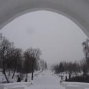 Парк Черное озеро привлекает туристов «Аркой влюбленных».
