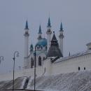 Казанский кремль включает мечеть Кул Шариф, Благовещенский собор, Губернаторский дворец и м.д.