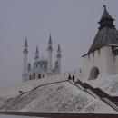 Казанский кремль - главная достопримечательность Казани.