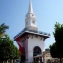 Символ города Кемер – Башня с часами.