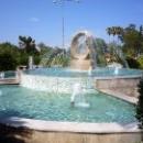 Фонтан «Дельфин» в парке Кемера.