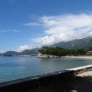 Королевский пляж на курорте Милочер в Черногории.