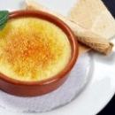 Десерт в Каталонии  «Крема-Каталана»